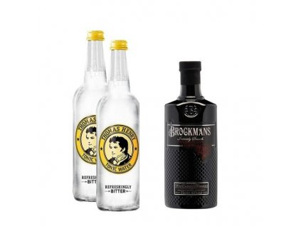 Brockmans Gin & Tonic basic