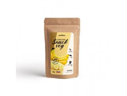 Mrazem sušené ovoce SnackVeg banán