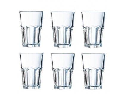 Arcoroc Graniti sklenice na long drink 420 ml, 6 ks
