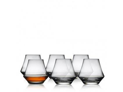 Lyngby Glas Juvel sklenice na rum 290 ml, 6 ks