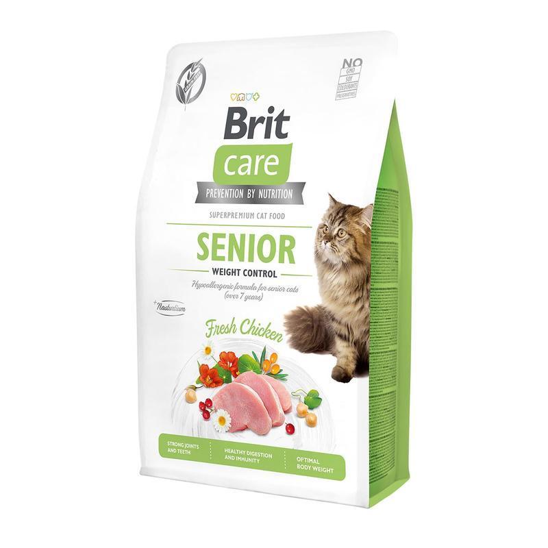 Brit Care - Cat Senior Weight Control - 400g