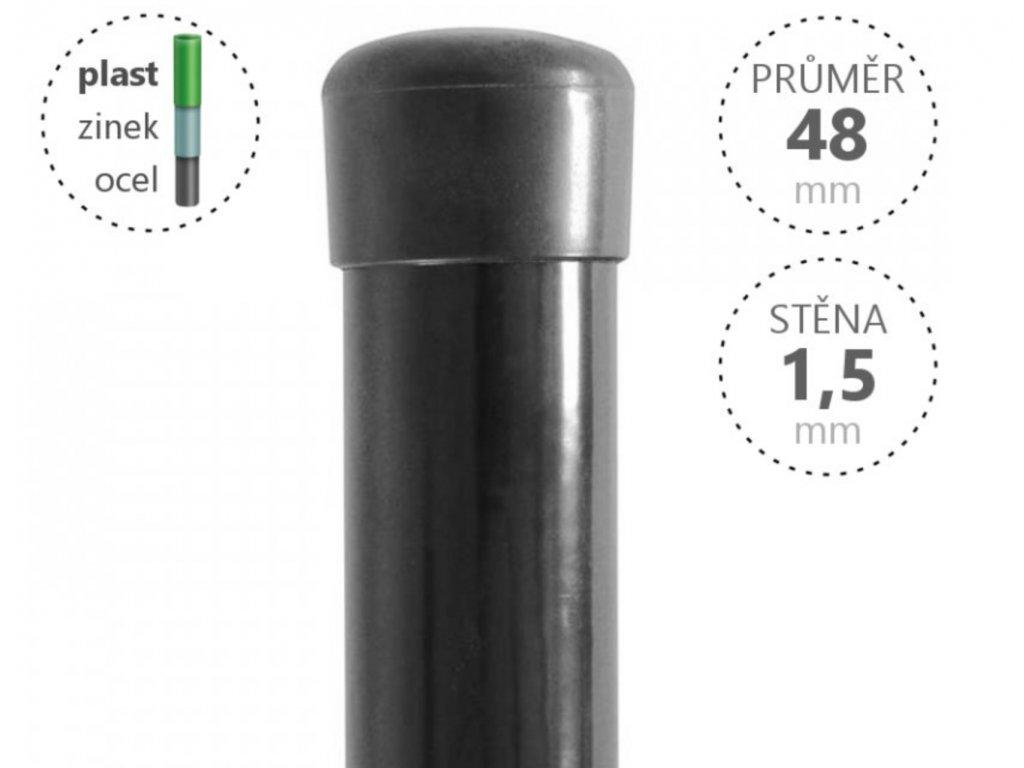 48 mm antracit