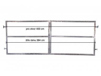 brána 400 s příč