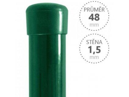 zelený sloupek