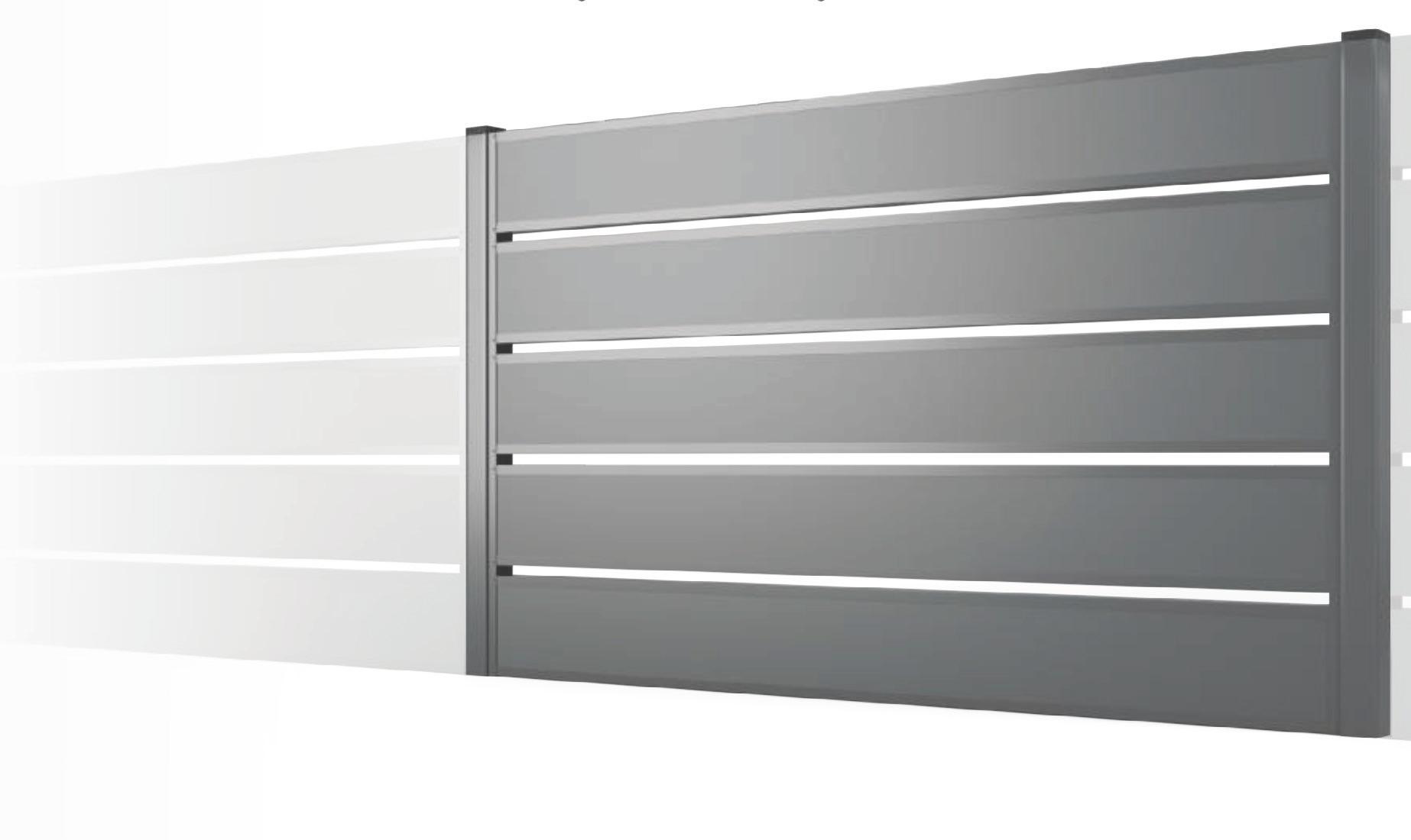 Dizajnový plotový panel Boston
