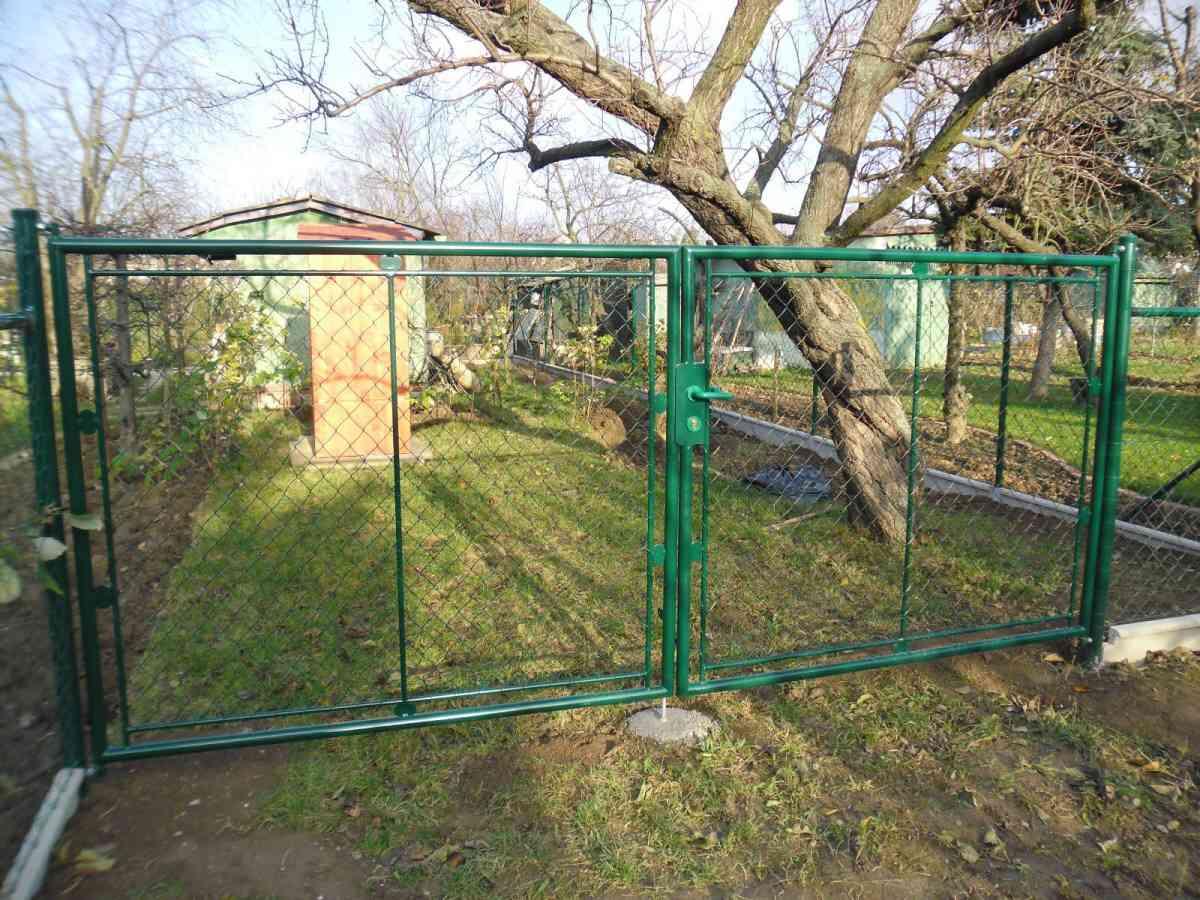dvojkrídlová_brána_klasik_zelená-8