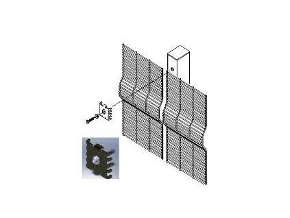 ÚCHYT SPIDER PRE SECURIFOR® + SECURIFOR® 3D (50 ks / bal.) - ZELENÝ