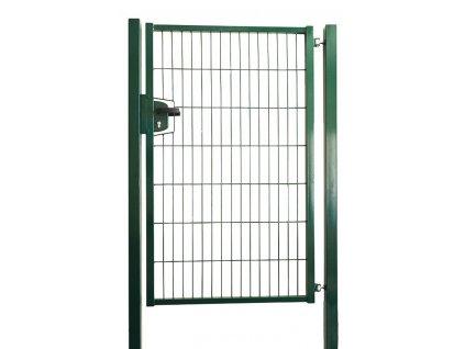 JEDNOKRÍDLOVÁ BRÁNA STRONG - ZELENÁ, 1250 x 1000 mm