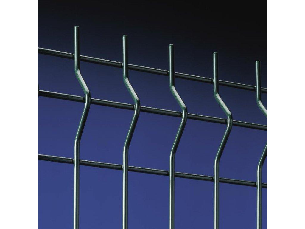 PANEL NYLOFOR® 3D - ZELENÝ, 630 x 2500 / 200 x 50 / 5.0 mm