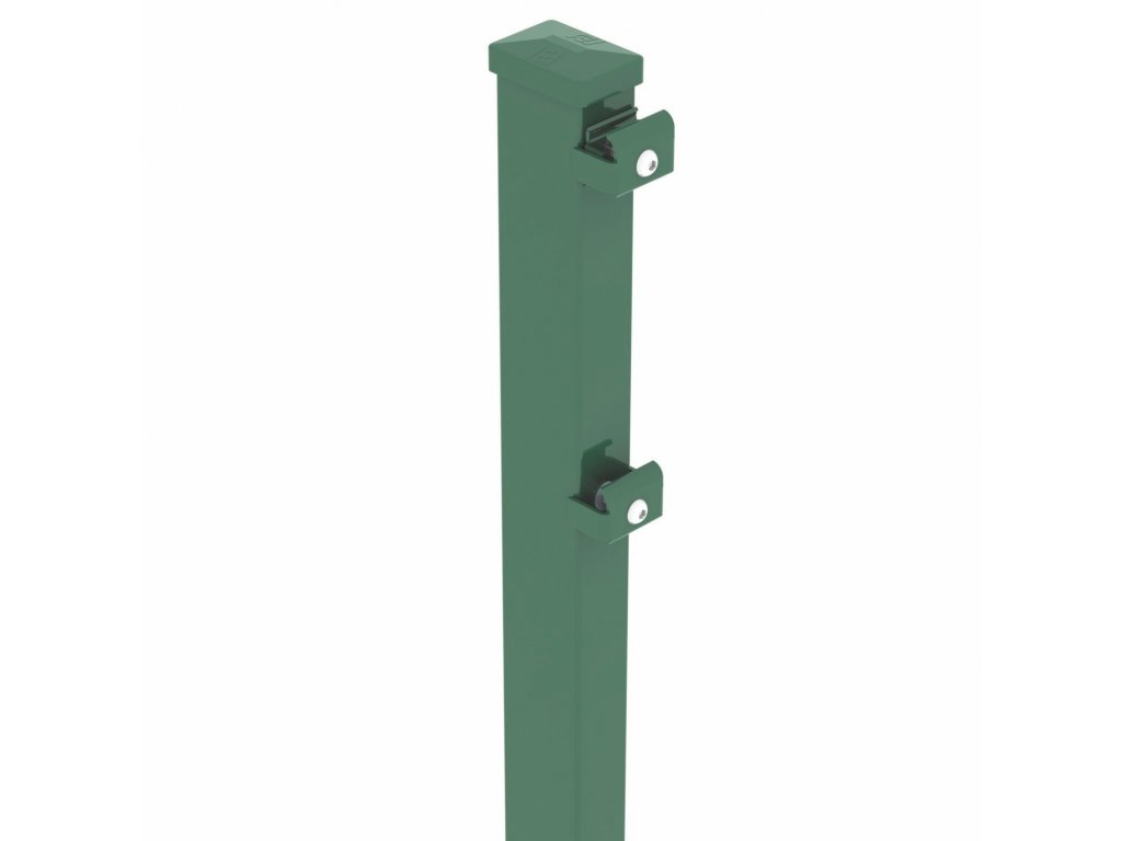 STĹPIK - ZACHYTÁVAČ LÔPT BEKASPORT PRE PANELY 3D / F / 2D - ZELENÝ, 9000 / 120 x 60 / 3.0 mm