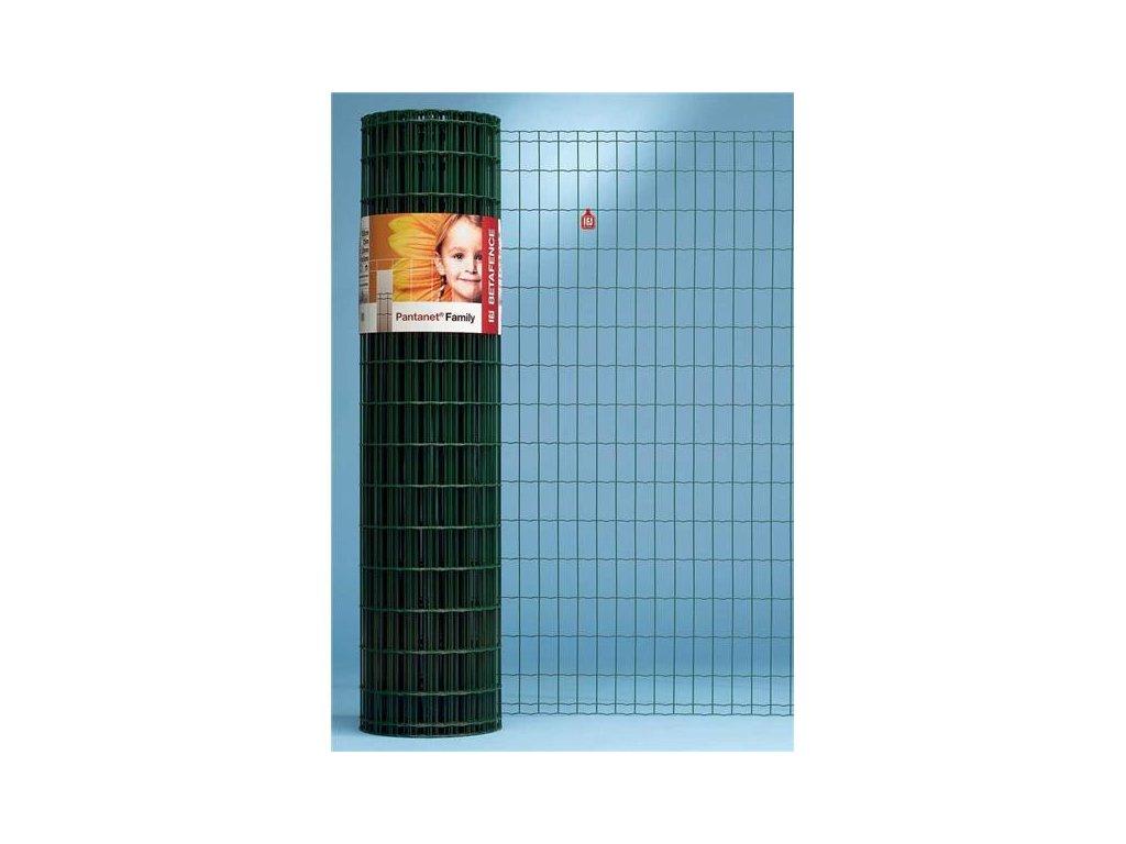 ZVÁRANÉ PLETIVO PANTANET® FAMILY - ZELENÉ, 1.22 x 10 m / 100 x 50 / 2.5 mm