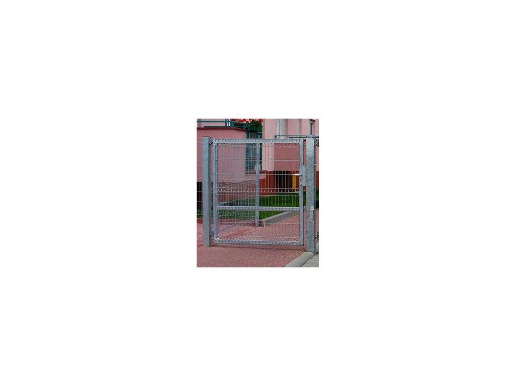 BRÁNA EGIDIA® 3D JEDNOKRÍDLOVÁ - POZINKOVANÁ, 1230 x 1000 mm