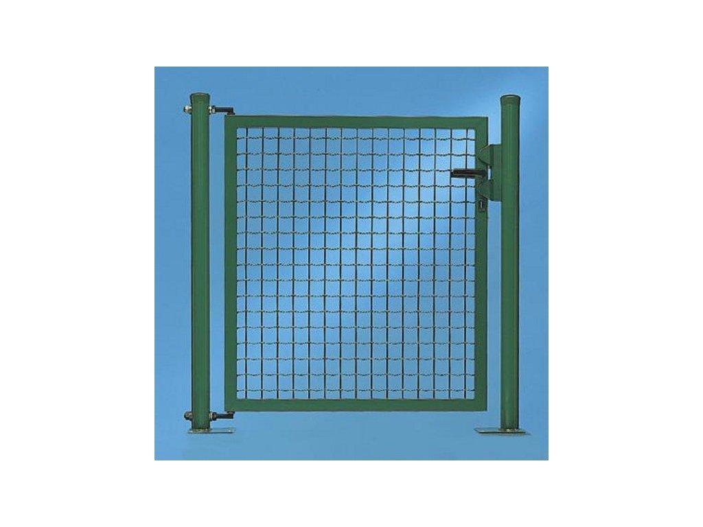 JEDNOKRÍDLOVÁ BRÁNA FORTINET® - ZELENÁ, 1150 x 1250 mm