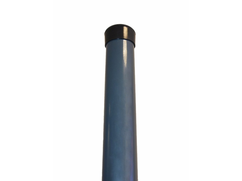 OKRÚHLY STĹPIK, ANTRACITOVÝ, 2000 / 48 mm