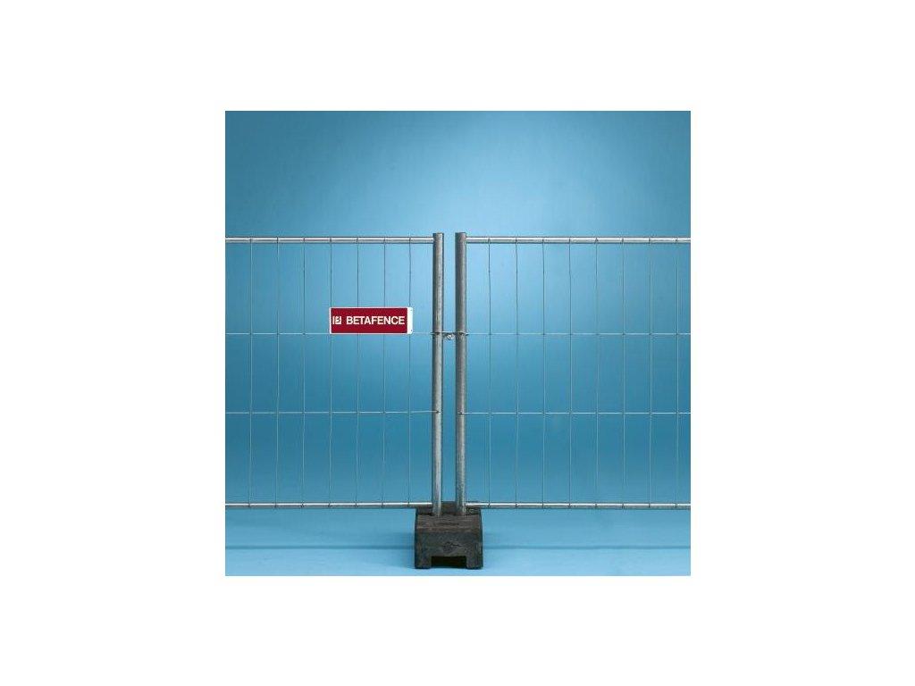 ŠTANDARDNÝ PANEL MOBILNÉ OPLOTENIE TEMPOFOR® - TYP F1. 3.5 x 1.2 m