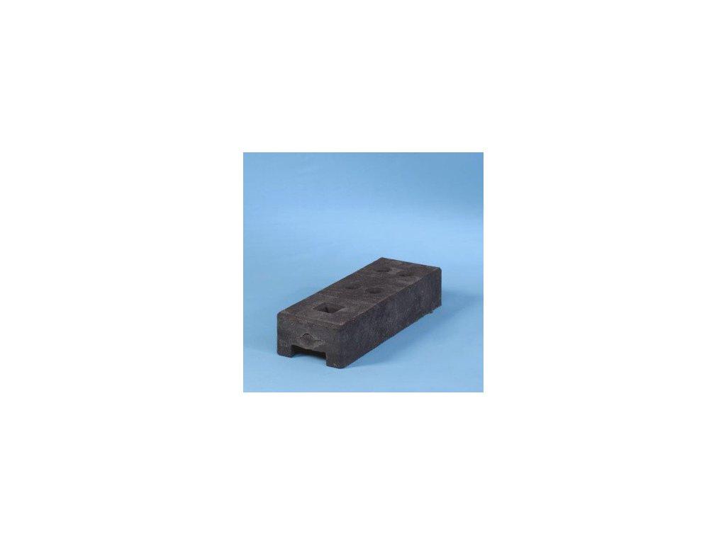 PVC BLOK ČIERNY PRE MOBILNÝ PLOT TEMPOFOR®, 26 kg