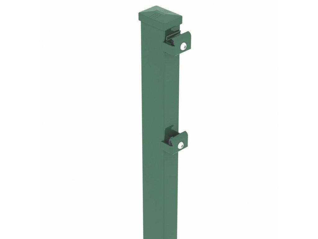 STĹPIK - ZACHYTÁVAČ LÔPT BEKASPORT PRE PANELY 2D SUPER - ZELENÝ, 3800 / 70 x 50 / 2.0 mm