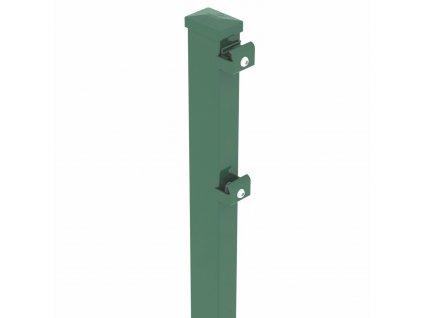 STĹPIK - ZACHYTÁVAČ LÔPT BEKASPORT PRE PANELY 3D / F / 2D - ZELENÝ, 4800 / 80 x 60 / 2.5 mm