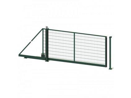 Samonosná brána Egidia Essential zelená