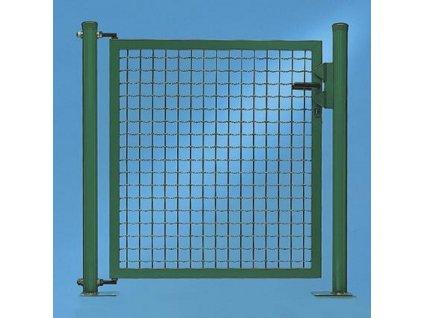 JEDNOKRÍDLOVÁ BRÁNA FORTINET® - ZELENÁ, 1450 x 1250 mm
