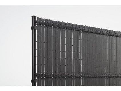 "PLASTOVÁ VÝPLŇ PRE PANELY NYLOFOR® 243 cm ""NYLOFOR SCREENO® LINE"" - ANTRACITOVÁ"