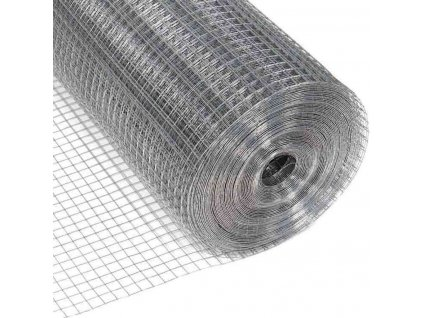 ZVÁRANÁ SIEŤ POZINKOVANÁ, 1.0 x 25 m / 10 x 10 / 0.8 mm