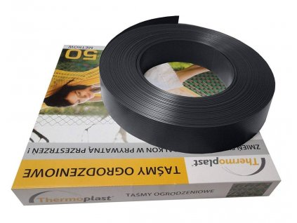 PLASTOVÁ VÝPLŇ PRE PLETIVÁ A PANELY, 47 mm (50m rolka) - ANTRACITOVÁ RAL 7016