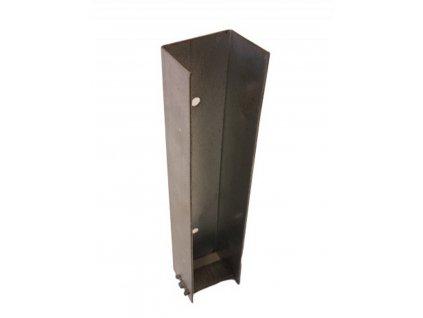 DRŽIAK PODHRABOVEJ DOSKY KONCOVÝ 40 cm - POZINKOVANÝ, PRE DOSKU 4 cm