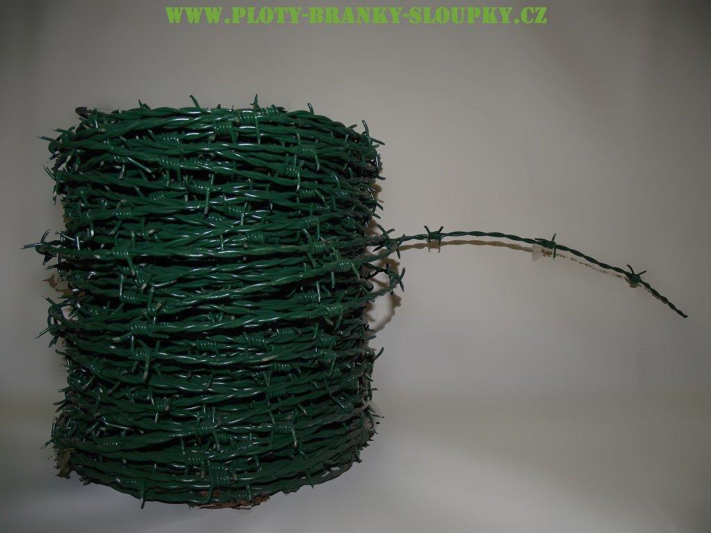 Ostnatý drát PVC-GESINTER 2.0mm/100m