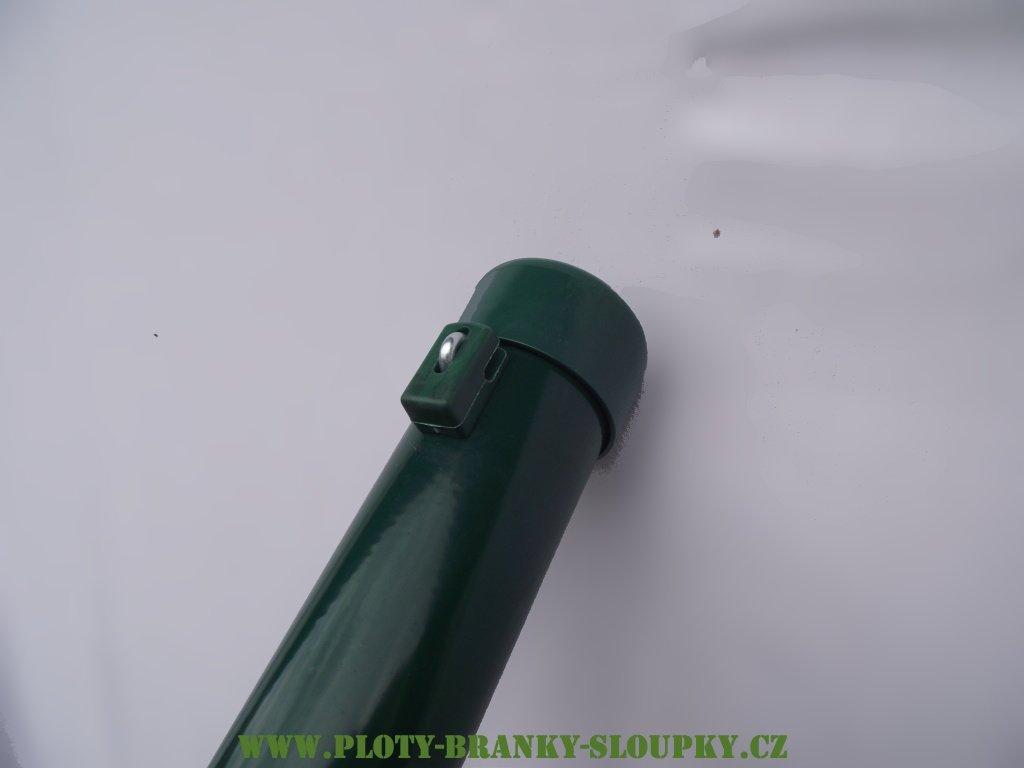 Krytka plotového sloupku PVC - zelená