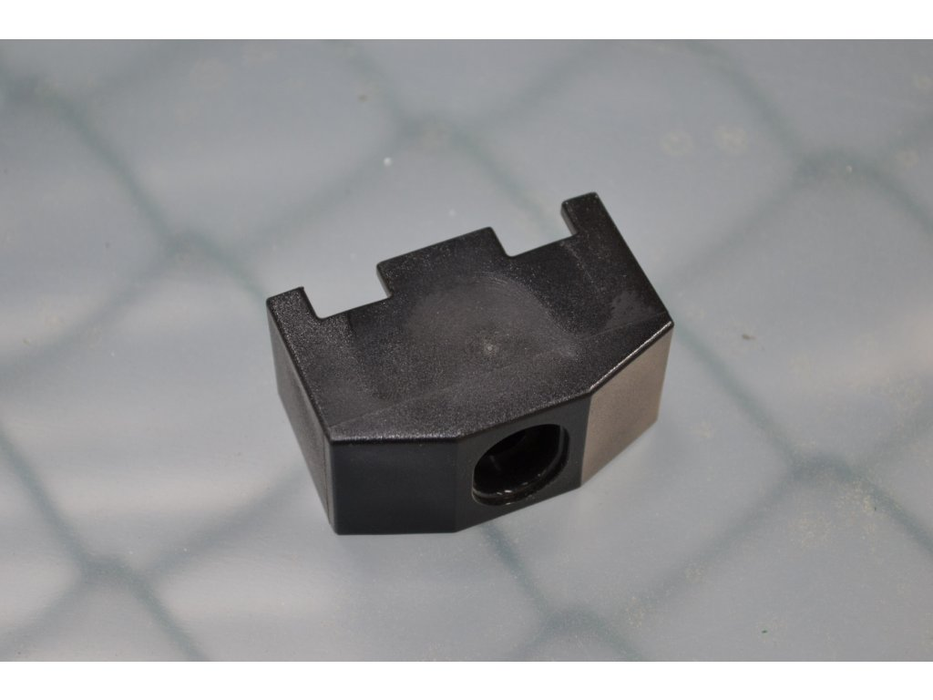 Příchytka 3D 60x60mm černá