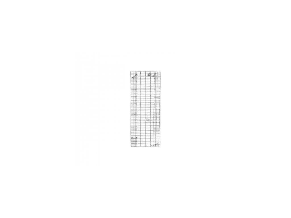 Gabionová stěna 1800x600x120mm