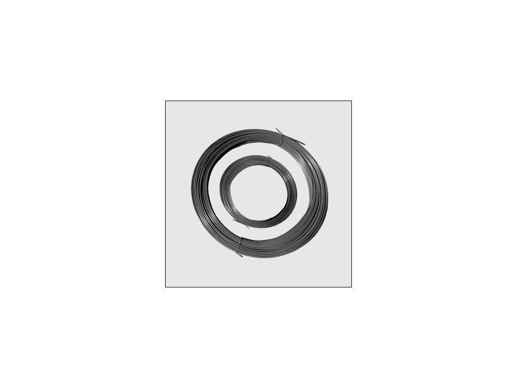 Napínací drát PVC 3.4mm/78m ANTRACIT