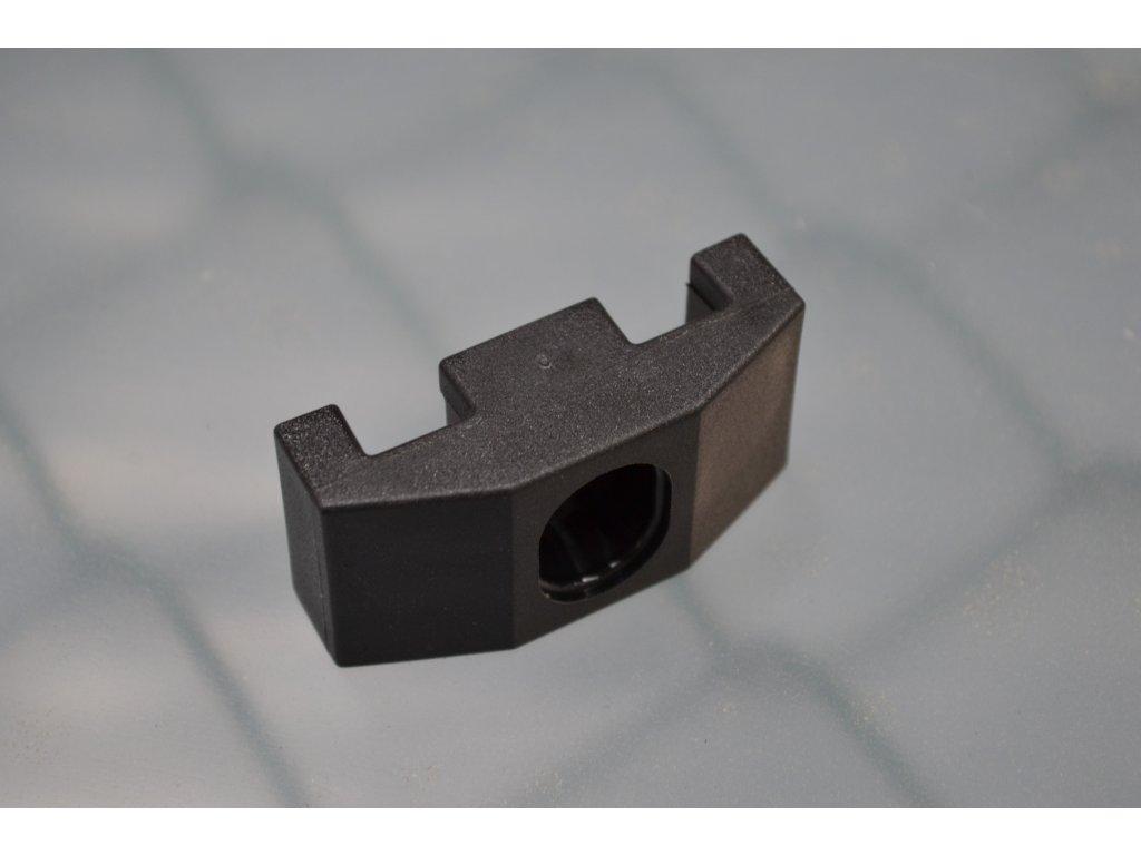 Příchytka 2D 60x60mm černá