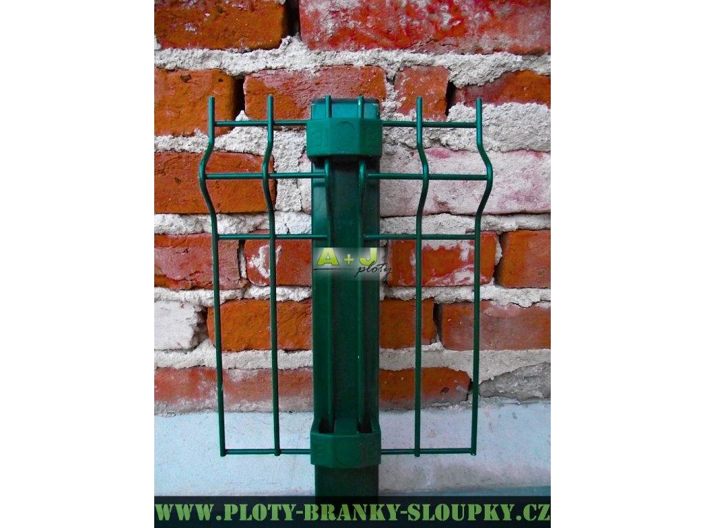 Příchytka 3D 60x60mm zelená