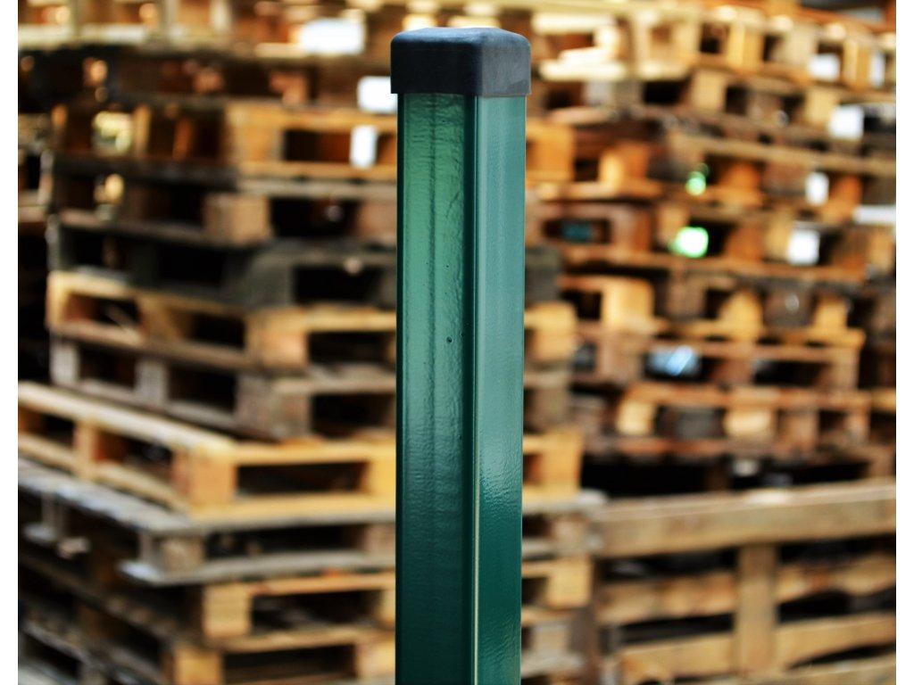 Sloupek poplastovaný 60x40/1.5 - 1700mm