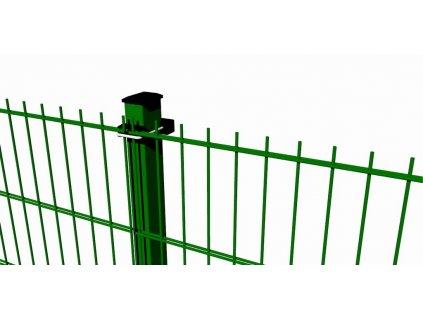Plotový dílec 2D PVC - 830x2500mm