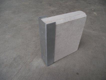 Držák podhrabové desky 30cm koncový
