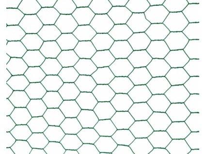 Králičí šestihranné pletivo ZN + PVC - 25/1mm