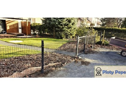 plotovy dilec a branka antracit
