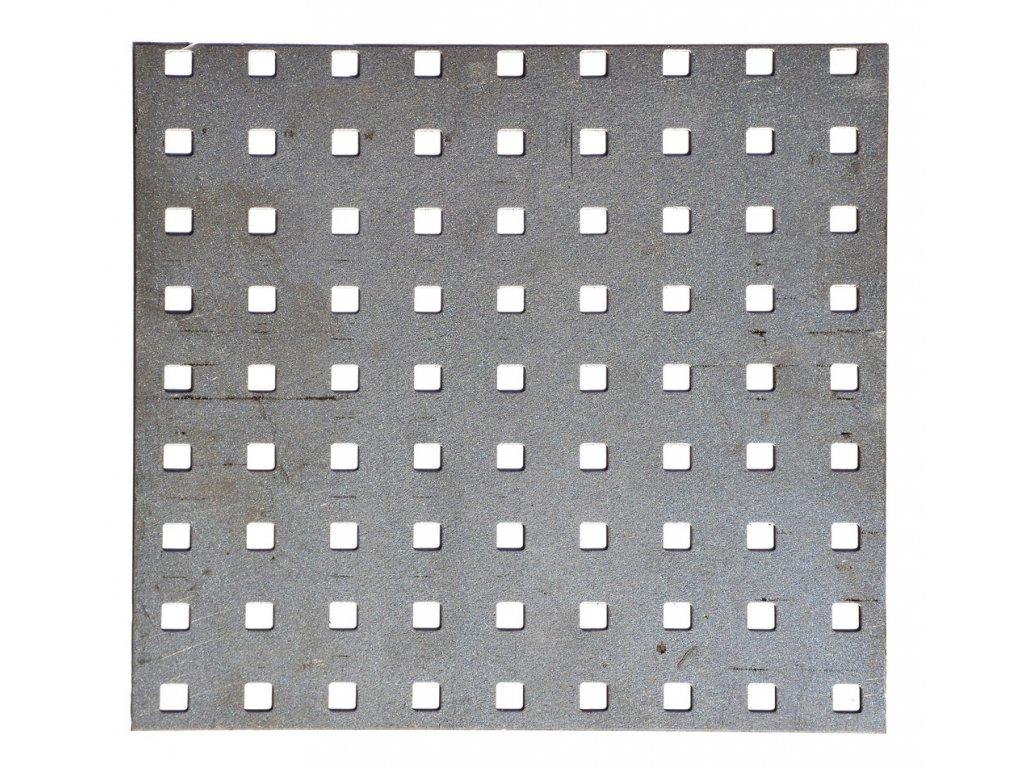 plech díra 10x10