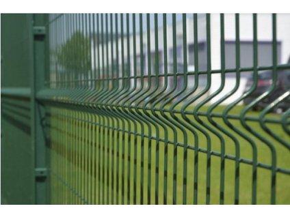 Panel 3D LIGHT pozinkovaný + poplastovaný, zelený
