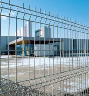 Svařované plotové panely Nylofor 3D