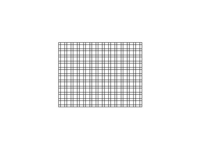 Plotový panel Nylofor® 2D pozinkovaný, výška 103 cm
