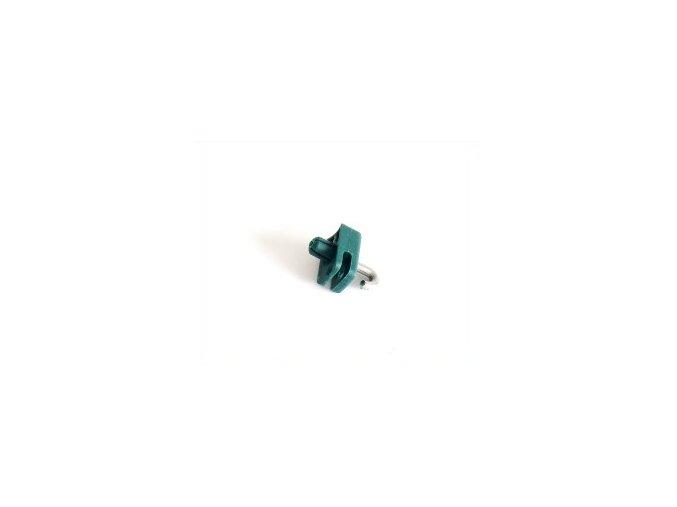 Příchytka drátu pro kruhové sloupky - zelená