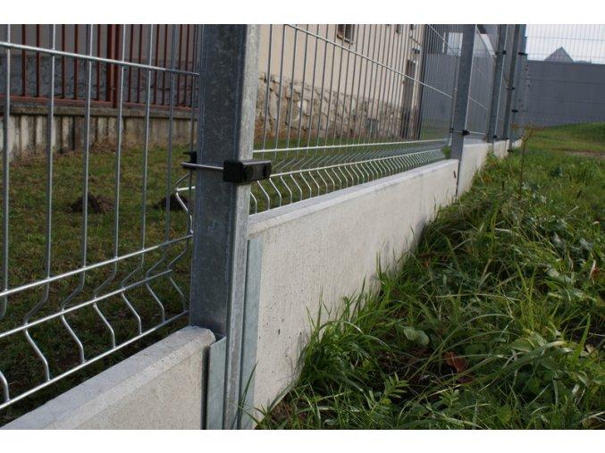 Betonová podhrabová deska 2450 x 200 x 50 mm