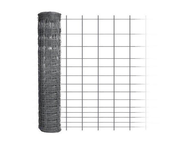 Uzlové pletivo výška 160 cm počet drátů 15/15 síla drátů 1,60x2,00 mm - 50 m