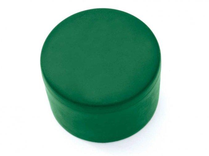 Čepička pro sloupek PVC pr. 38 - zelená/černá