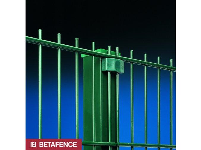 Čtyřhranné sloupky pro ploty Nylofor výška 280 cm