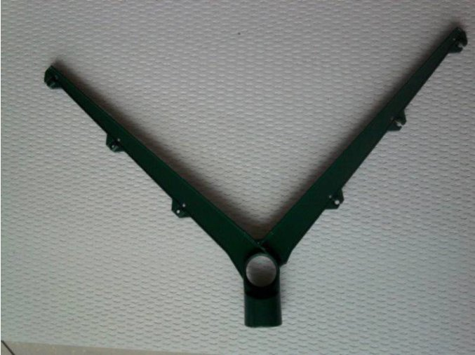 Bavolet dvoustranný Y AL+PVC 60x40 mm